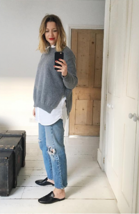 Stylememo styles grey jumper