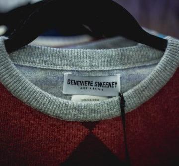 slow fashion, hand intarsia designer knitwear