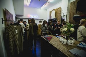 Private View Opening British Knitwear Designer