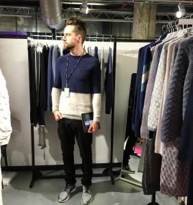 Genevieve Sweeney | Tranoi 2016 | Paris Fashion Week | AW16 | GS Team sporting our Menswear Line