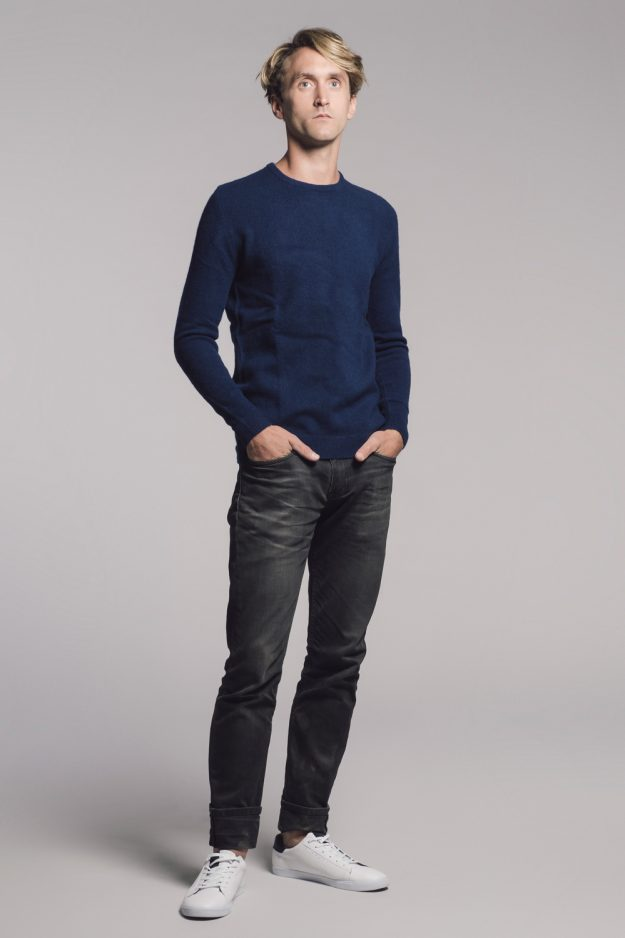 Brushed Lambswool Jumper Made in Scotland Genevieve Sweeney