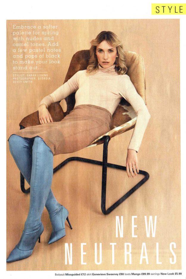 sheer skirt spring knitwear