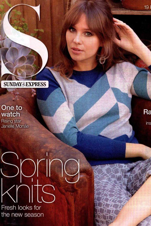Cover Knitwear Intarsia Cashmere Jumper