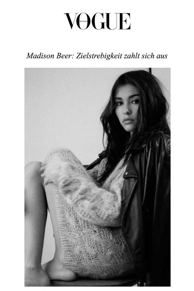Vogue Germany British Knitwear Jumper