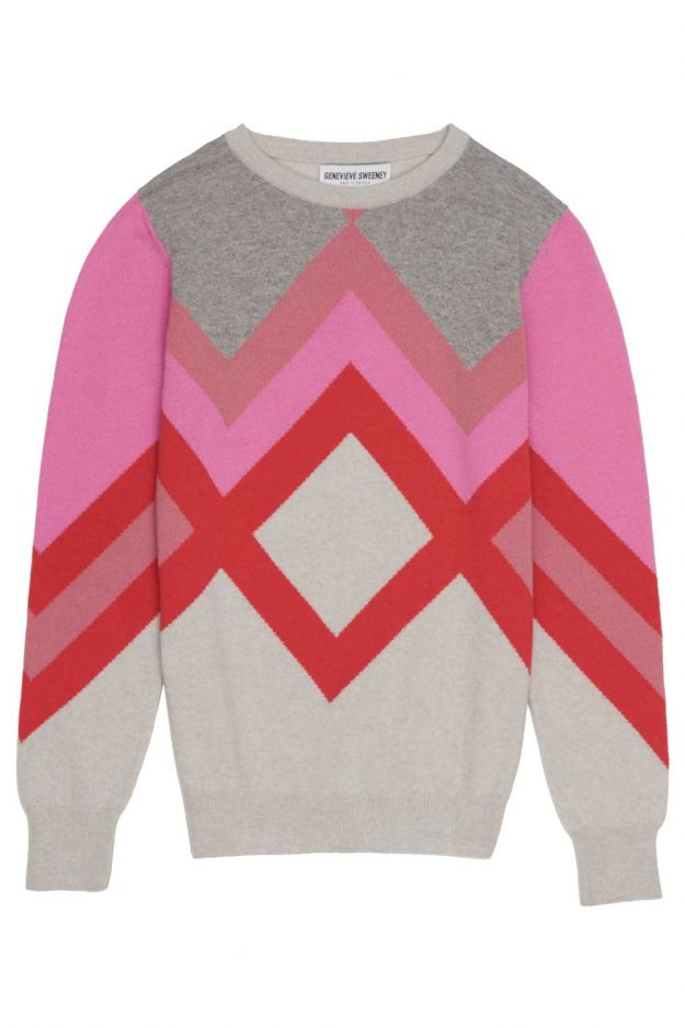 breast cancer awareness pink cashmere