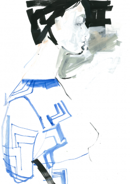 Fashion Illustration Knitwear