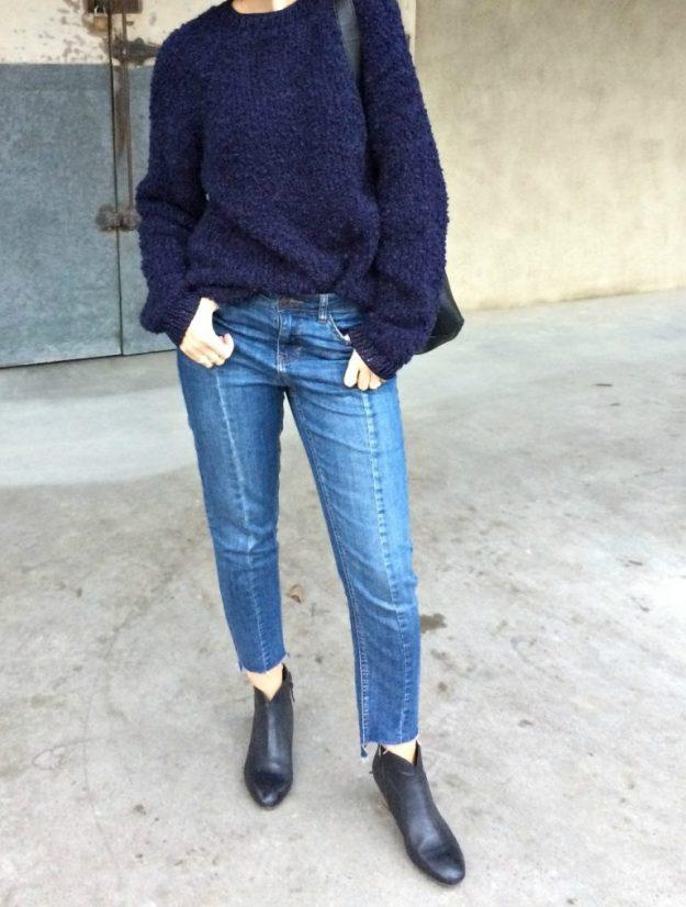 Genevieve Sweeney Boucle Unisex Sweater