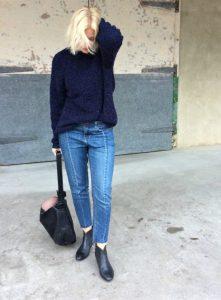 Genevieve Sweeney Boucle Unisex Knitwear