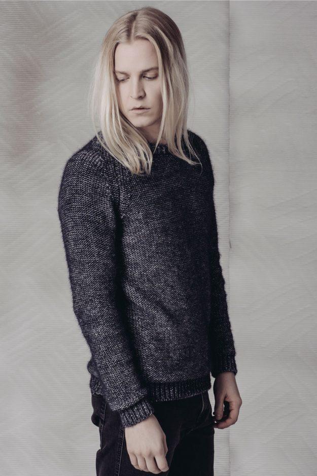 Alpaca Cotton Mens Sweater