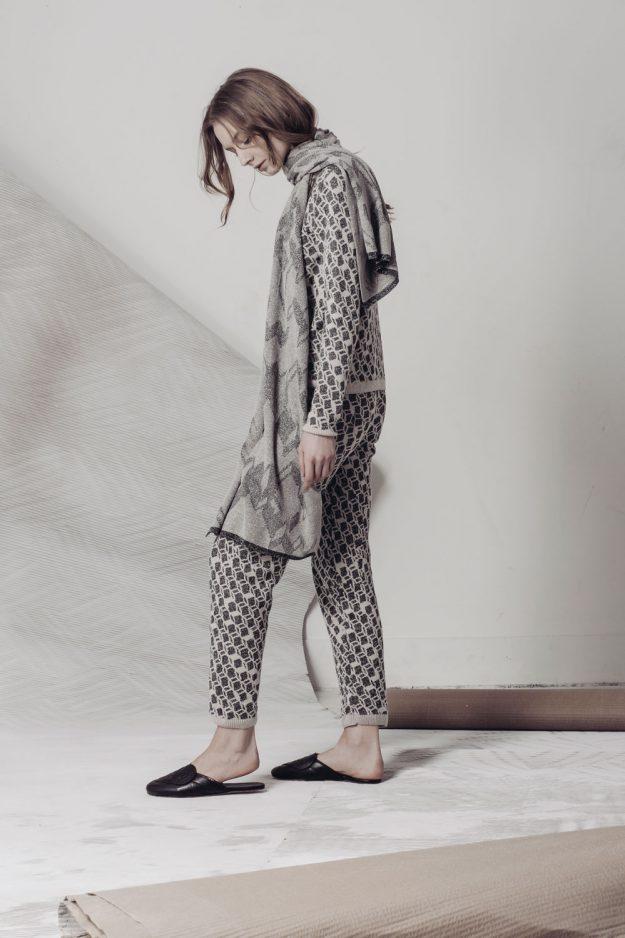 Loungewear set merino cashmere genevieve sweeney