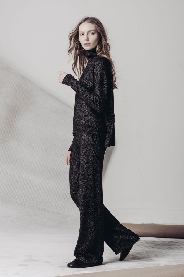 Luxury Loungewear Black two piece