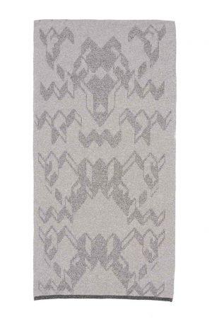 merino cashmere scarf made in britain