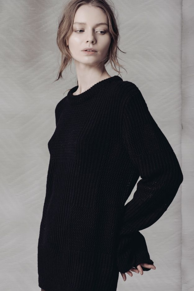wool cashmere womens jumper made in britain