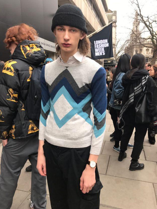 London Fashion Week Mens Street Style