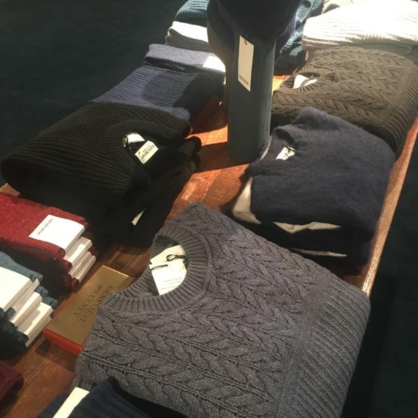 Genevieve Sweeney Fortnum & Mason British Knitwear