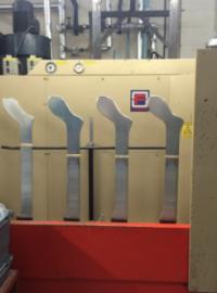 Sock press made in britain
