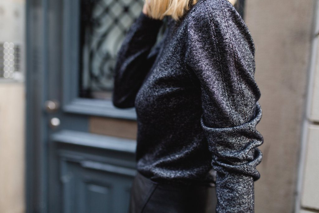 Capsule Winter Wardrobe British Knitwear Rollneck