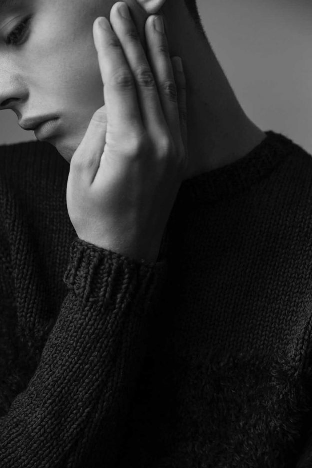mens sartorial knitwear