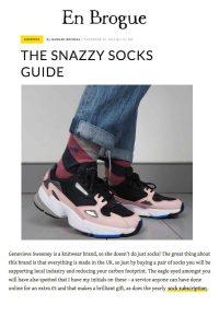 en brogue addidas and socks