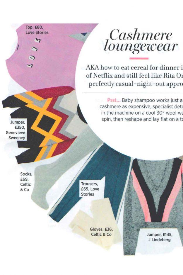 Cosmopolitan Magazine Cashmere Jumper