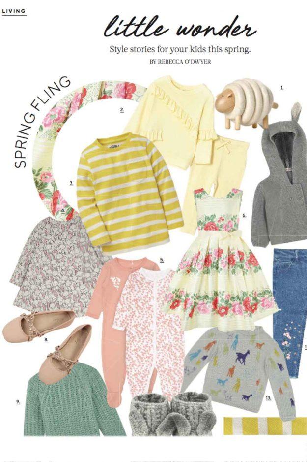 Irish Tatler Kids Knitwear Spring fashion