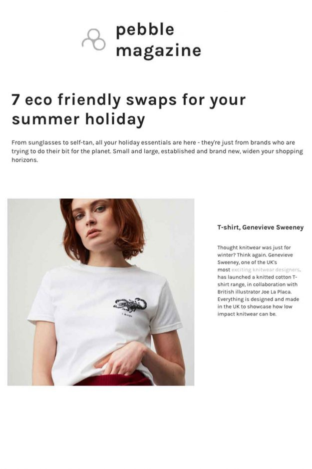 Sustainable Summer Holiday Tshirt