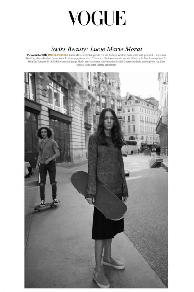Vogue Germany British Knintwear