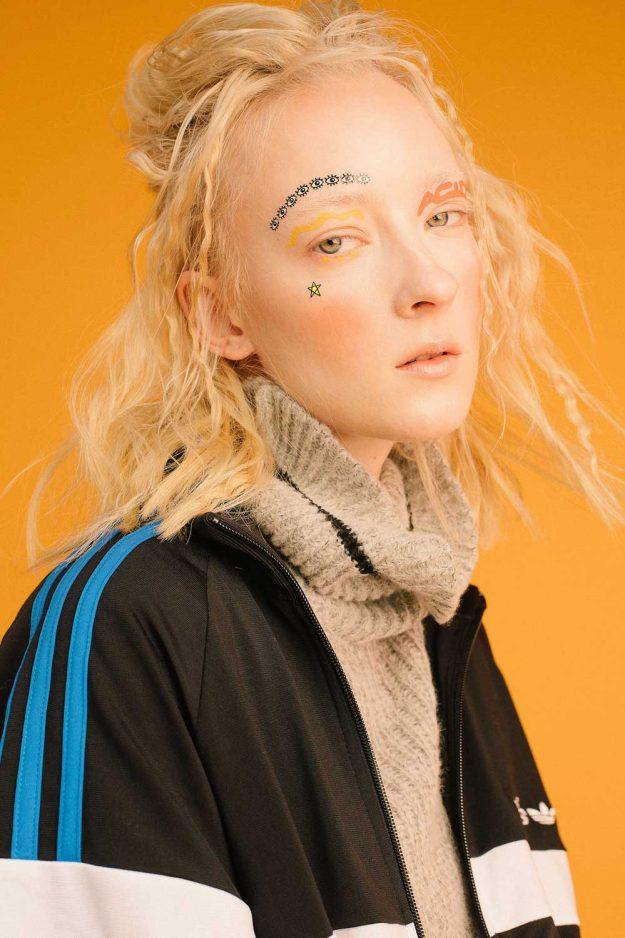Roll neck jumper sportwear