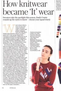 Hand Intarsia Cashmere Sweater The Telehgraph