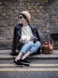 British Knitwear ecru unisex jumper
