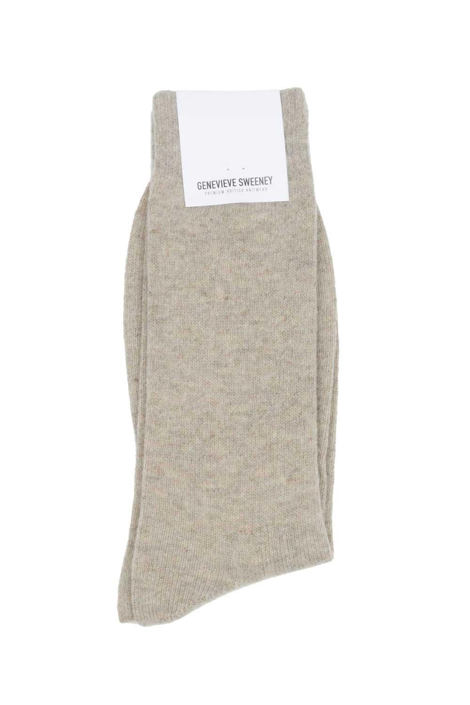 wool linen natural cosy socks