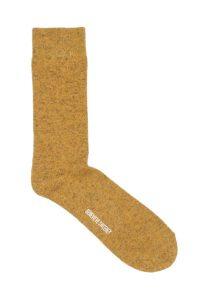 Mens Wool Yellow Socks