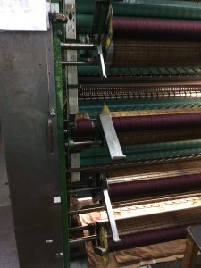 Manufacturing of British Lambswool