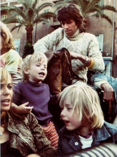style inspiration Keith Richards chunky jumper