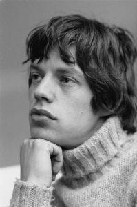 style inspiration Mick Jagger roll neck jumper