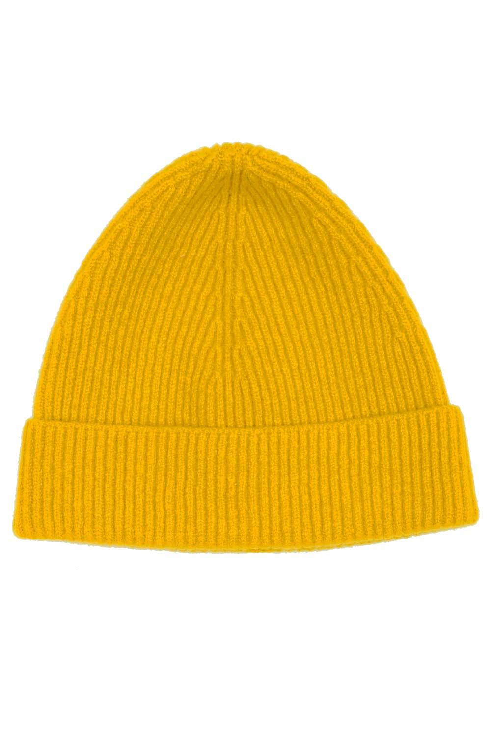 0edb1b5a5f2b Mustard Yellow Beanie Hat (100% Lambswool) British Made