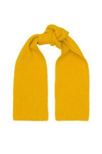 Mustard Yellow Lambswool Scarf