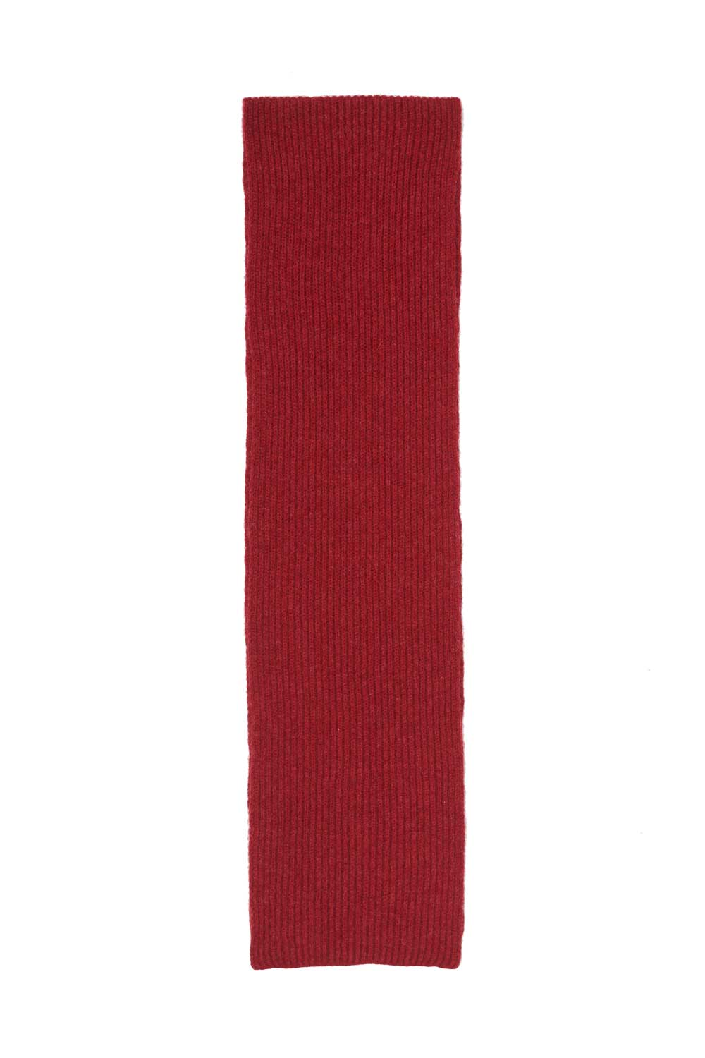 Kids Lambswool Red Scarf