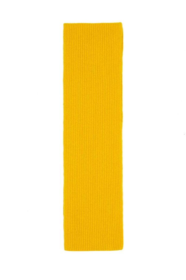 Mustard Yellow Lambswool Scarf Childrens
