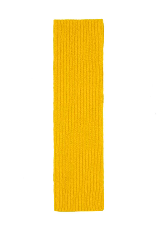 Mustard Yellow Lambswool Scarf Childrens