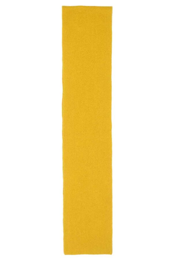 mustard yellow lambswool scarf adults