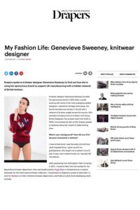 Drapers Online My Fashion Life Interview