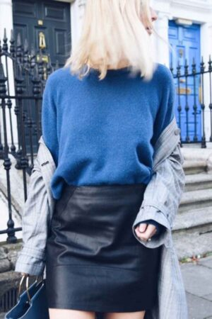 Lambswool Slouch Jumper
