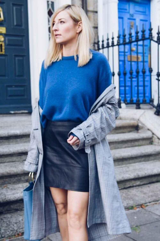 Lambswool Blue Jumper DublinBlogger