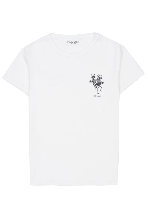 Adults Zodiac Tshirt Made in Britain Gemini