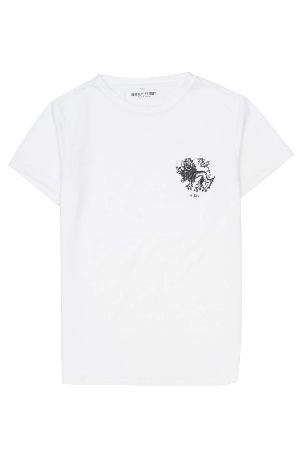 Adults Zodiac Tshirt Made in Britain Leo