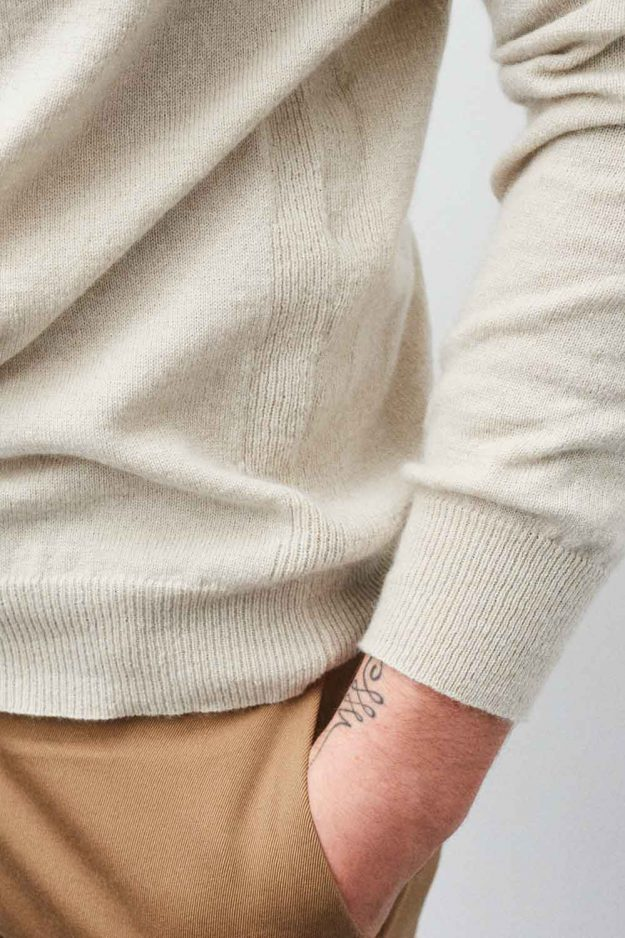 mens luxury cashmere jumper