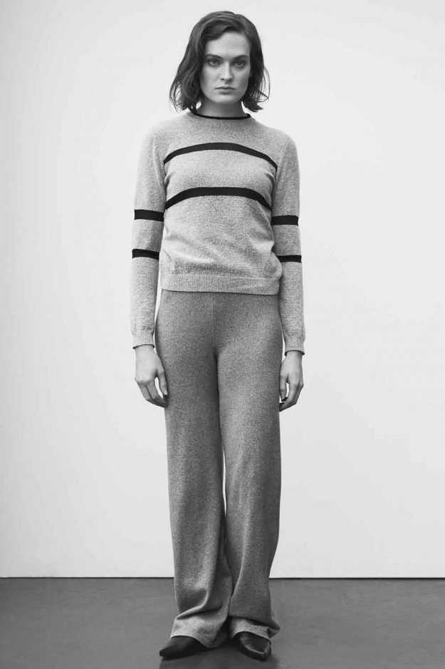 womens stripe wool alpaca jumper
