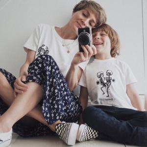 Stylonylon wearing GS Zodiac Tshirt Kids and Adults