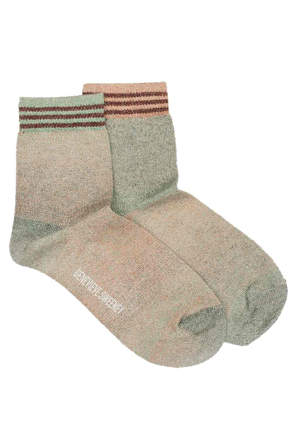sparkly ladies socks ombre sunset